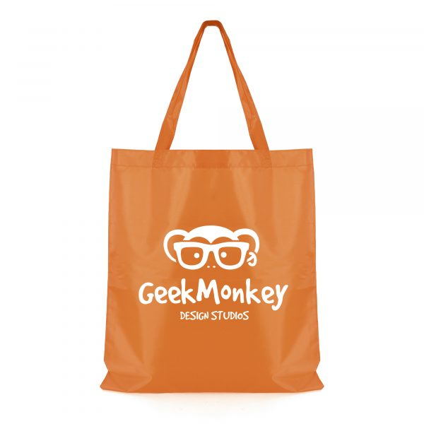 210D coloured polyester shopper bag with long carry handles. Available in 7 colours