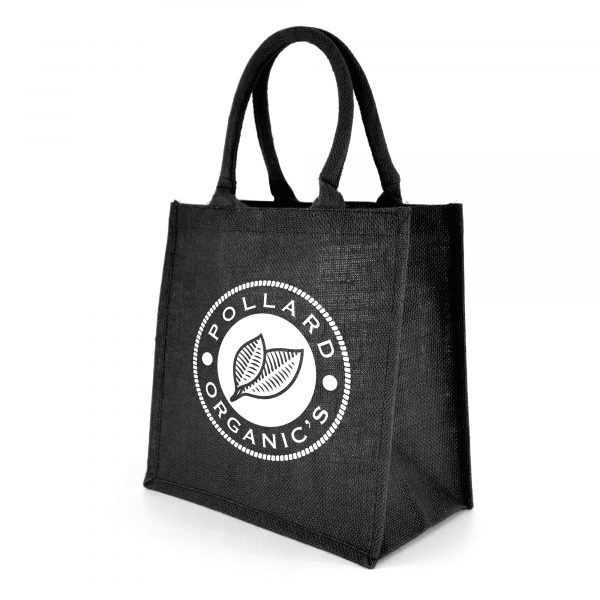 Full colour shopper featuring coloured gusset, rope handles and laminated backing. Available in royal blue, black and red.