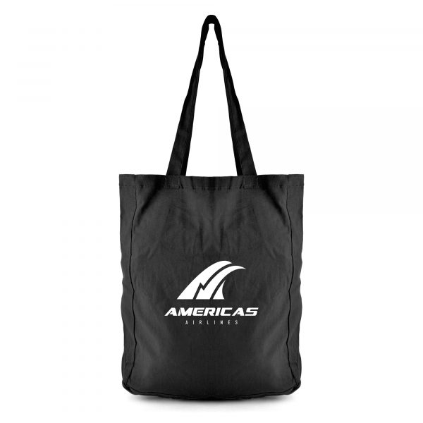 4oz cotton tote bag with long handles and gusset. Please note you may find small variations in size between the bags. Available in 4 colours.