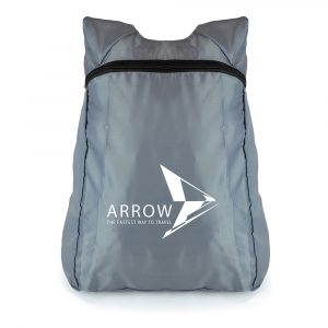 A lightweight foldaway rucksack made from water resistant, ripstop fabric. Supplied in its own zipped pouch for easy storage.