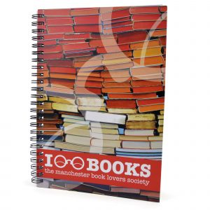 A5 spiral bound notebook with 50 sheets of lined paper. Available with a fully bespoke cover including edge to edge printing to the front and back.