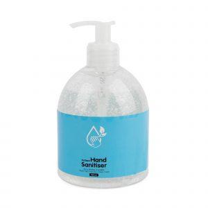 300ml, 70% Ethonal hand sanitiser in plastic bottle. Conforms to EN1276 (Bacteria) & EN14476 (Virus). Stock labelling as per design shown. Personalisation not available