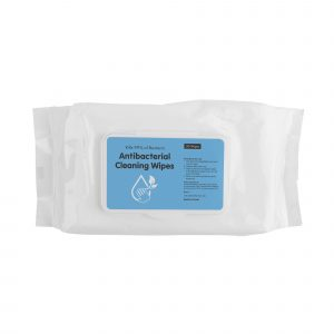 80 piece non woven material anti bacterial wipes (size of wipes 15x20cm). Kills 99% of bacteria, in a re-sealable plastic case. Test conformance confirming they effectively kill - Streptococcus Hemolyticus, Streptococcus Aureus, Pseudomonas Aeruginosa, Coliforms