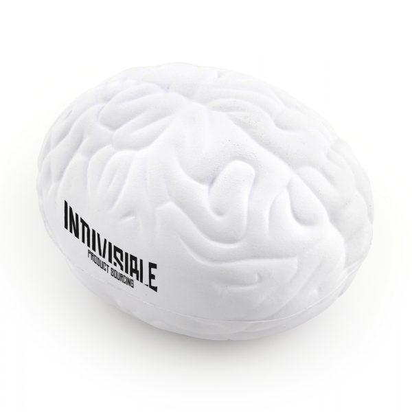 Brain shaped stress toy