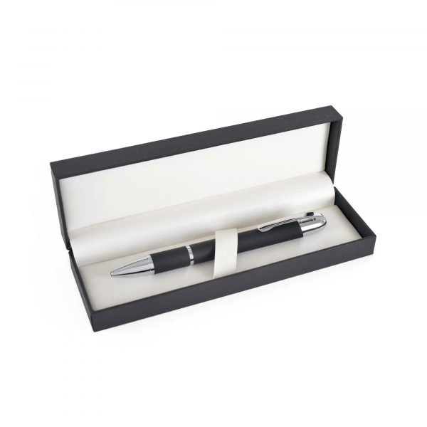 A truly prestigious way to present two pens - suitable for all standard size models. Hinged lid with leatherette style interior.