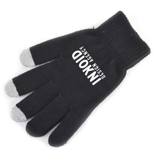 Use your touch screen device with your gloves on! Fits most adults. Pricing includes embroidery up to 5000 stitches on one glove only.