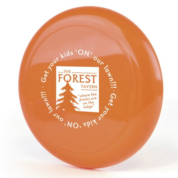 Basic plastic flying disc. Available in various colours