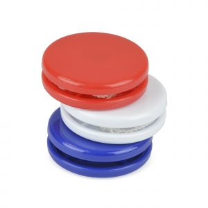 A classic novelty toy to carry your brand. Perfect for event planning or for party industries. Available in blue, red and white.