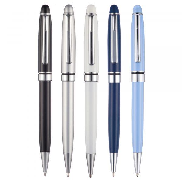 The return of an old favourite - brought back by popular demand this pen is a classic design with a substantial feel!. Can be pantone matched from 2,000 pieces POA.