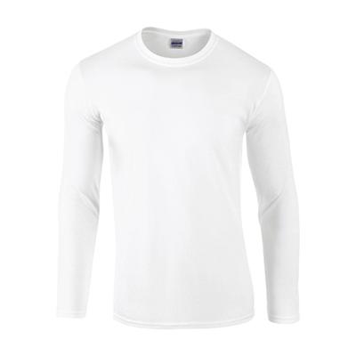 100% Ringspun Cotton, Tubular Knit, Hemmed Sleeves.