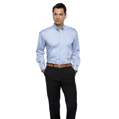 85% Cotton 15% Polyester, Wrinkle Resistant Finish, Button Down Collar, Back Yoke with Centre Pleat,