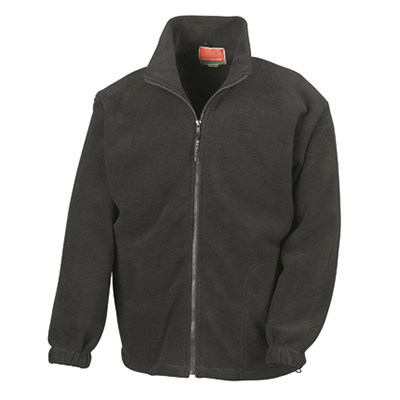 100% Polyester Pill Resistant, Unlined, Front Pockets, Full Length Zip.