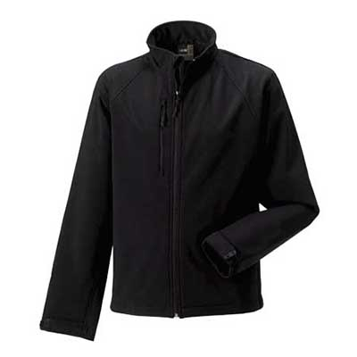 92% Polyester 8% Elastane, Three Layer Soft Shell Fabric, Windproof/Water Resistant