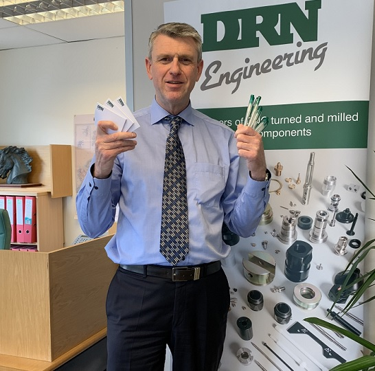 DRN Engineering - Eco Friendly pens and Post it Notes.