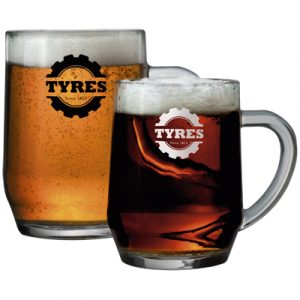 A heavy duty styled Pint Tankard, suitable for real ales and beers. 670ml capacity