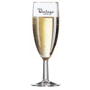 A modern style champagne flute, ideal for raising a toast to present and future success. 215ml capacity