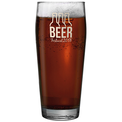 One of the most popular Pint Glasses in our range. 570ml capacity