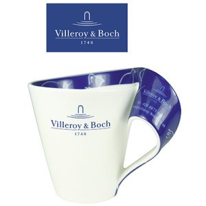 This fantastic mug boasts a delightful sweeping handle that looks great from all angles. A quality product from Villeroy & Boch. 34cl.