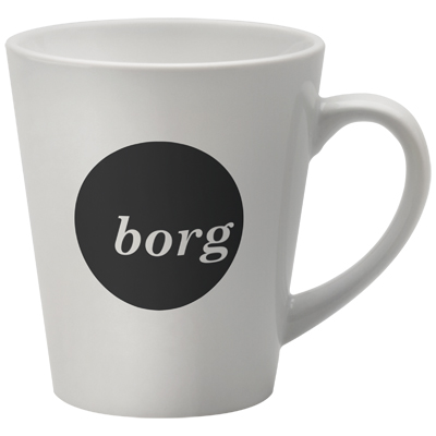 The deco mug is a highly angular shape. This jazzy style will certainly make you stand out from the rest.