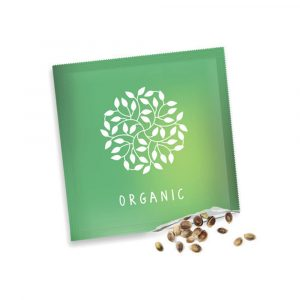 Small seed packets, printed in full colour both sides with a choice of flower, vegetable, herb or tree seed. Gloss finish, sealed to all sides