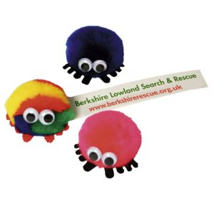 """AD-BUGS available in any colour combination and hand made and assembled in the UK. All bugs come complete with """"Sticky"""" feet and full colour printed tail."""
