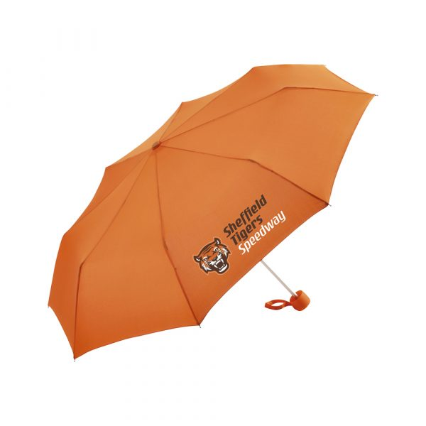 Convenient automatic function for quick opening, windproof features for higher flexibility and stability in windy conditions, flexible fibreglass ribs, straight dull black plastic handle