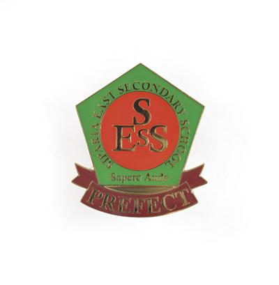 Large metal bespoke badge up to size 60 x 60 mm