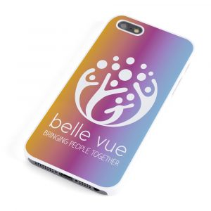 Plastic hard case suitable for a wide range of mobile phones. Full colour print available.