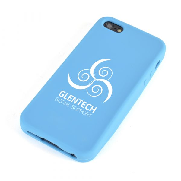 Silicone phone cover suitable for a variety of mobile phones. Available in various colours.