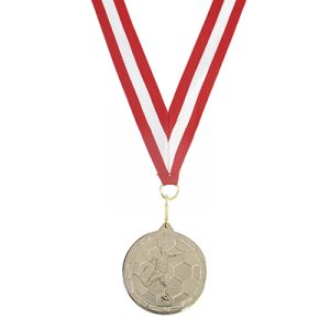 Ideal for school sports day or staff presentations. Medals come in a silver or gold look and can be finished off with a ribbon.