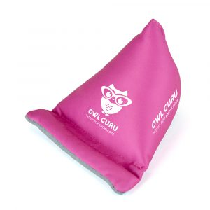 Soft touch microfibre bean bag phone holder, with an all over print area for maximum brand exposure.