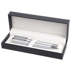 Ambassador ball pen & rollerball packed in the Hi-Line gift box