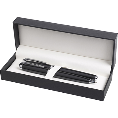 Hi-Line gift box containing the Excelsior Ball Pen and Roller Ball