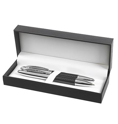 Kari ball pen & rollerball packed in the Hi-Line gift box